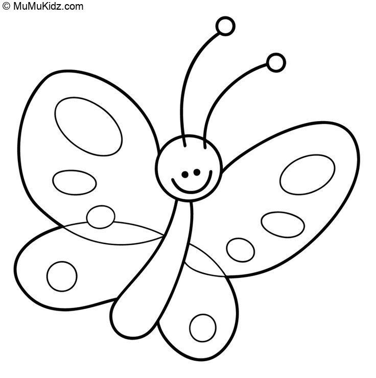 Schmetterling bilder zum ausmalen Ausmalbilder