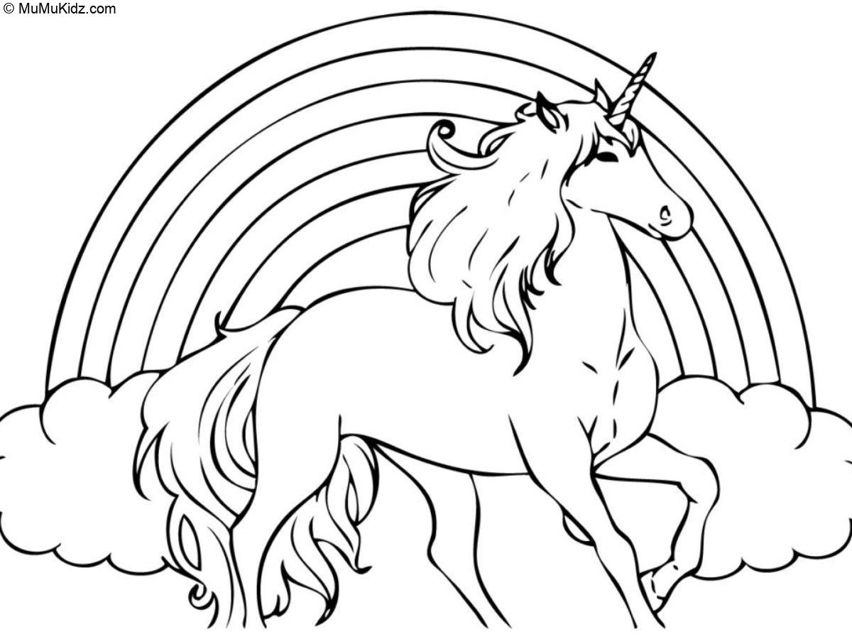 Unicorn Coloring Pages  Free Printable 25 Unicorn Coloring Pages